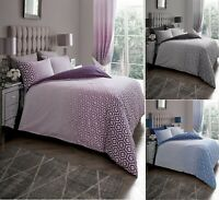 Designer OHARI OMBRE Printed Reversible Duvet Cover+Pillow Case Bed Set All Size