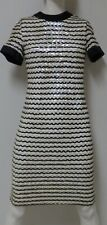 Vintage 1960s Saks Fifth Avenue Young Circle Dress Wiggle Sequin Ilgwu Union Usa