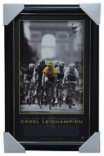 Cadel Evans Signed 2011 Tour De France Champion L/E Official Print Framed