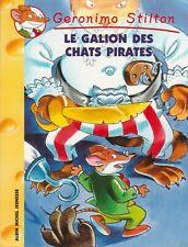 GERONIMO STILTON N°2 Le galion des chats pirates livre jeunesse
