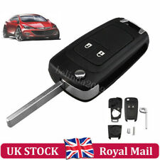 For Vauxhall Opel Astra J Insignia Zafira Meriva 2 Buttons Remote Key Fob Case
