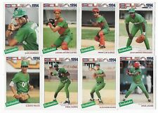 Complete Set of 33 1994 Cuba Basebal Cards Occientales