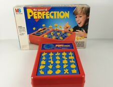 The Game Of PERFECTION ~ Milton Bradley (1990). Complete Set
