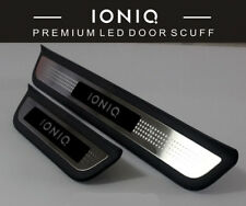 Genuine OEM LED Door Sill Scuff Plate 1Set-4ea For Hyundai Ioniq 2018, 2019+
