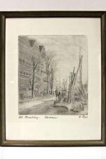 Original Grafik Alt Hamburg  R57