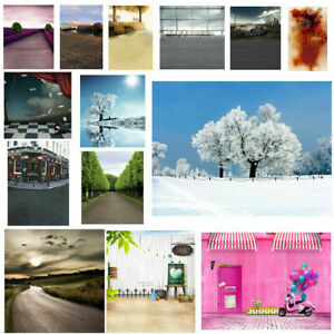 17 Scenes City Forest Road Photography Backdrop Photo Studio Background Props