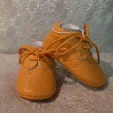 **FREE SHIPPING** Baby PU Leather Tan Lace-up Shoes