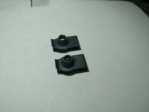 NEW (2) GM 11517841 U Nut Splash Shield Air Deflector Clip Chevrolet GMC