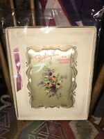 Vintage 1940-50's Mother's Day Greeting Card. Boxed; Unsigned and Unused.