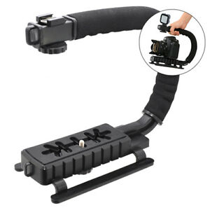Pro Video Stabilizer Rig Grip Handle Mount for DSLR Cameras and DV Camcorders