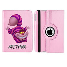 Cheshire Cat 05 Name Personalised iPad 360 Rotating Case Cover Birthday Present