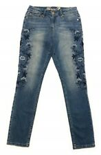 SEVEN7 WOMEN'S  FLORAL EMBROIDERED SKINNY JEAN COLOR: LATIMER  VARIETY SIZE NWT