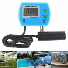 2 in1 LCD pH EC Meter  Tester Wassertest Messgerät Leitwertmessgerät Wasserdicht