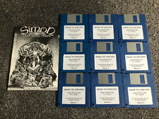 More details for simon the sorcerer a adventure soft game for the amiga computer tested & working