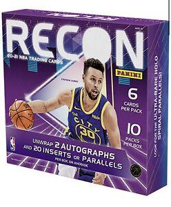 2020-21 Panini Recon Basketball Hobby Box! Factory Sealed!