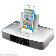 iPod Touch 5th 6th Nano iPhone 5 6 6s Dock Docking Station Speaker System USB