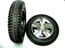 """14""""x3"""" Solid Foam-Filled Wheels for Q6 Edge® 2.0, Z and HD Quantum Wheelchair's"""