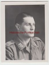 (f11165) ORIG. foto ritratto Luftwaffe-soldato Franz Bager in Cherbourg 1943