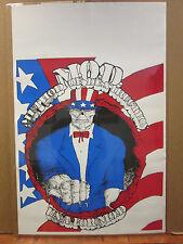 Vintage Method of Destruction original poster 9034