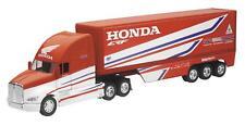 NEW-RAY REPLICA 1:32 SEMI TRUCK 17 HONDA RACE TRUCK 10893
