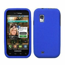 Blue Soft Silicone SKIN Case Cover Samsung Fascinate Mesmerize i500