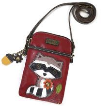 Charming Chala Friendly Raccoon Cell Phone Purse Mini Crossbody Bag