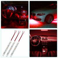 12V led Barra luminosa Striscia leggera impermeabile Per Auto Intern Decorazione
