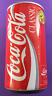 1986 Coca-cola Coke flat side 280ml [Canada] Can Rare