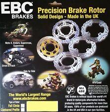 EBC/MD1016 Brake Disc (Rear) - Honda NT650/700 Deauville, CB1000, CBR1000 FK-FN