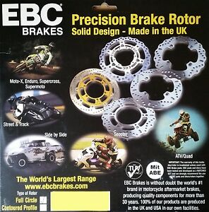 EBC/MD1016 Brake Disc Rear for Honda NT650/700 Deauville, CB1000, CBR1000 FK-FN