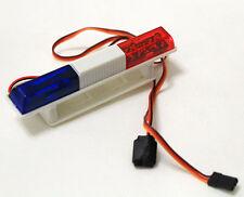 RC Model Car Police Night Flash Bright LED Light 360 Degree Rotation RED&BLUE #2