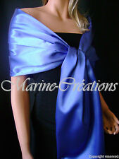 etole en SATIN MARIAGE/MARIEE coloris Bleu gitane