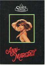 ANN MARGRET SWEDEN CHINA THEATRE SWEDISH HISTORY ABBA PROGRAMME 1982 RARE