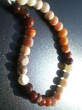32 Perles Rondes en Opale de Feu 37 cts !!(Mexique)