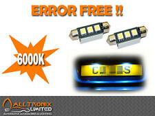 CANBUS 3 SMD NUMBER PLATE BULBS  HIGH POWER 6000K XENON WHITE COLOUR BULBS