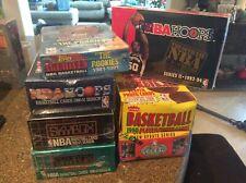 Michael Jordan Basketball Box Lot Fleer..Skybox....Topps...NBA Hoops