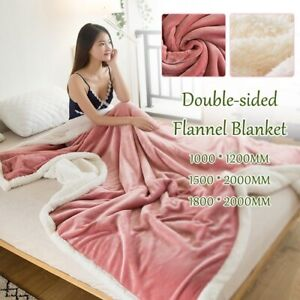 2020 Flannel Blanket Winter Double Small Cashmere Blanket Bed Sofa Warm Home