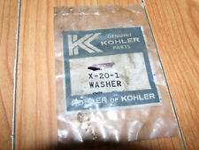 Genuine Kohler WASHER Part # X-20-1-S BUYING 1