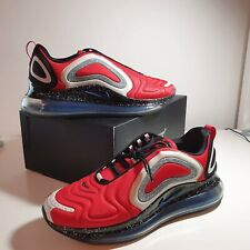 NIKE Air Max 720 Undercover Trainers - Univeristy Red/Blue Jay  (UK 10.5)