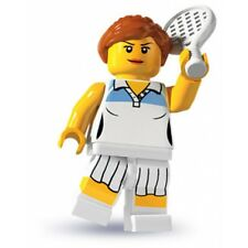 #10 LEGO Minifig series 3 Tennis Player 8803 city new