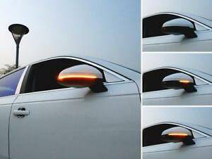 Dynamic LED Mirror Turn Signal Light For AUDI A4 S4 RS4 B9 & A5 S5 RS5 B9 2016+