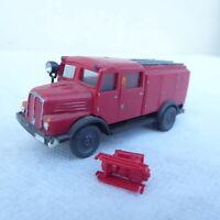 Espewe H0 Modell H0 IFA H6 S 4000 Feuerwehrwagen mit Kompressor Leim, bespielt