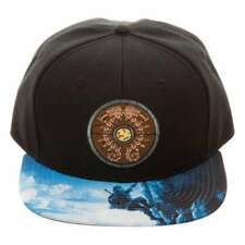 THE LEGEND OF ZELDA: BREATH OF THE WILD SHIELD SNAPBACK CAP WITH PRINTED VISOR
