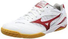 Mizuno Japan Men's 26.5cm Wave Drive 8 Table Tennis Shoes 81GA1705 White Red