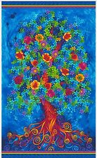 PARADISE TREE OF INSPIRATION QUILT PANEL * NEW * GORGEOUS * FREE POST *