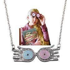 Collana Harry Potter Luna Lovegood Occhiali Eye Ciondolo