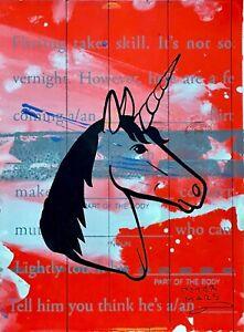 Peter Mars Art Fantasy Horses Unicorns Magic Fairytales Mad Libs Mythology
