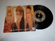 "BANANARAMA - Love In The First Degree - 1987 UK 7"" Vinyl Single"