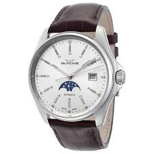 Glycine Men's 3948.111.LBK7F Combat Classic Moonphase Automatic 40mm - GL0 Watch