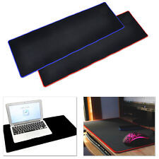 Red Huge Extra Large Size Gaming Mouse Pad Desk Pad (Edge Locked) 900x300x3mm